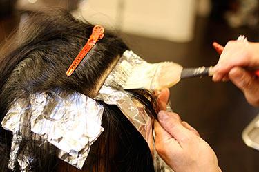 технология окрашивания волос