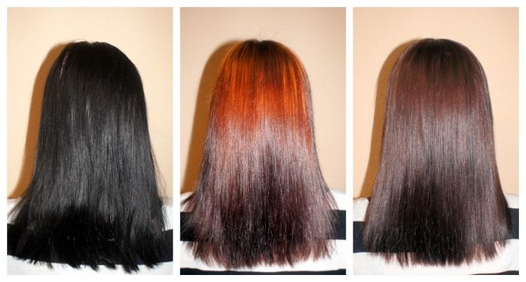 Фото смывка для волос